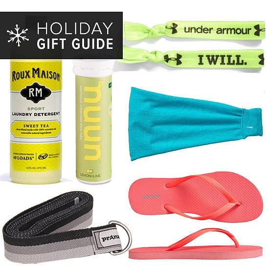 If you've got a fitness fan in your life, chances are she's got a long list of dream gifts to help keep her in shape — a treadmill for the basement, her own yoga studio, or a personal trainer for life. But even you can't spring for her wish-list items, there are plenty of practical gifts that can keep her on a healthy road. Here are 10 practical stocking stuffers for the fitness fan in your life!