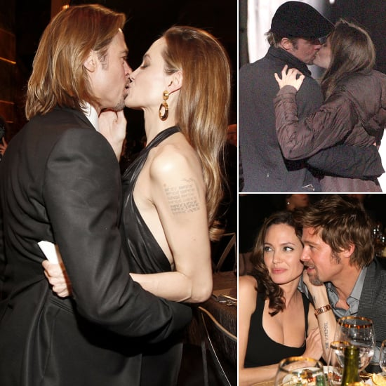 31 Times Brad Pitt and Angelina Jolie Showed Their Love For Each Other (and the Cameras!)