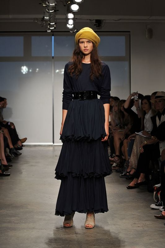 New York Spring 2009 Trend Reports: Black Day Dresses