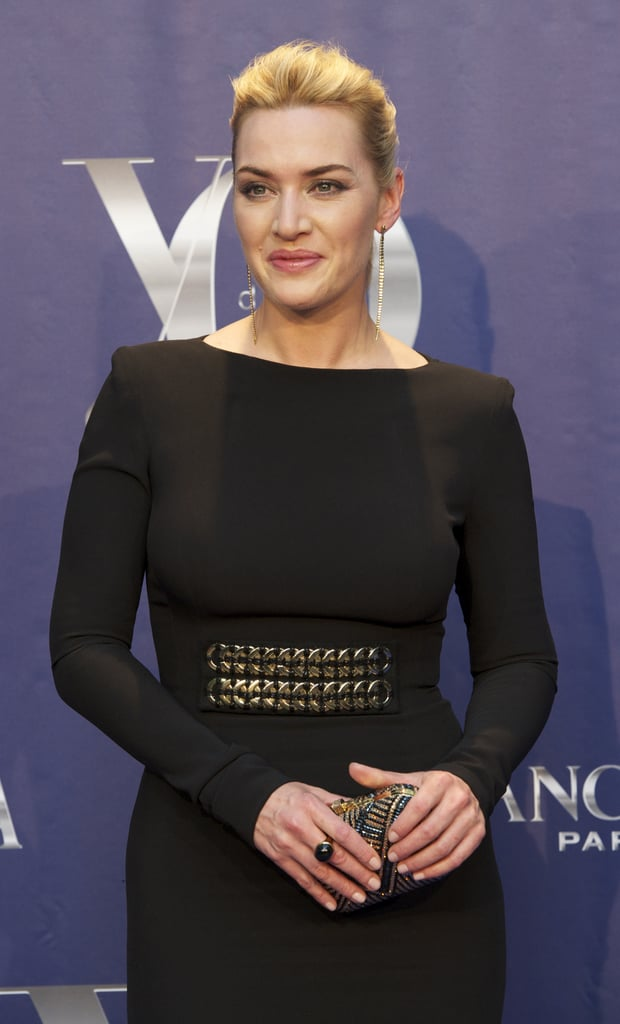 Kate Winslet wore a sexy Victoria Beckham dress in Madrid.