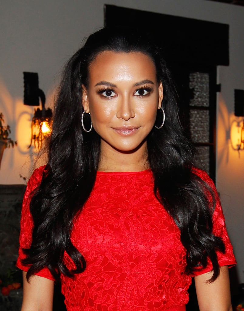Naya Rivera was stunning at Allure's Look Better Naked issue event. She rocked voluminous waves, bronzed skin, and flirty lashes.