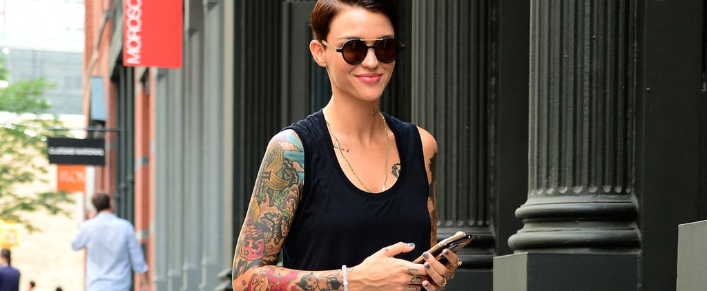 Could Ruby Rose's New Tattoo Be Connected to Urban Decay?