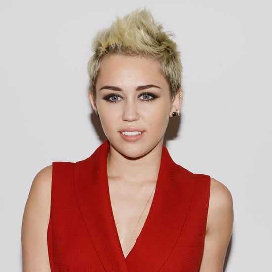 Miley Cyrus Front Row at Rachel Zoe Presentation NYFW