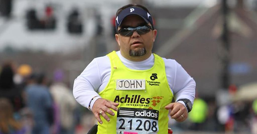You Can't Help but Be Inspired by This Marathon Runner With Dwarfism