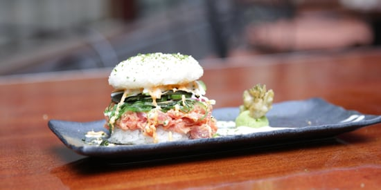 A Beautiful Sushi Burger Exists, Just In Time For Burger Season