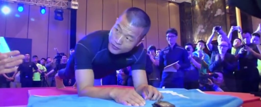 Cop Sets World Record After Holding a Plank For 8 Hours, 1 Minute, and 1 Second