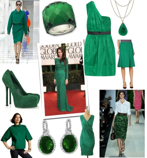 Trend Alert: Emerald Green Is an Important Color For Spring 2011