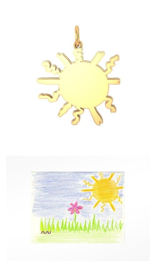 Transform Their Summer Art Into Jewelry