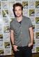 Robert Pattinson smiled at Comic-Con.