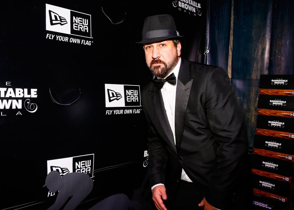 Joey Fatone went black tie for the Barnstable Brown Gala on Friday.