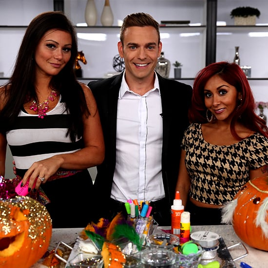 Snooki and JWoww Halloween Pumpkin-Carving Contest