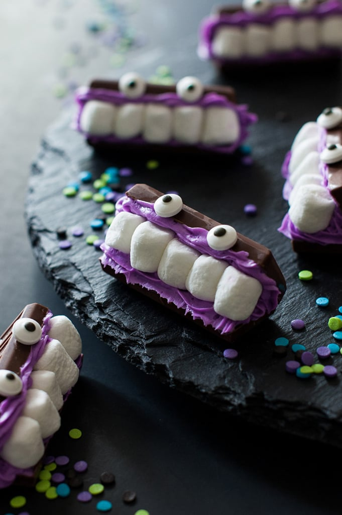 Chocolate-Marshmallow Monster Mouths