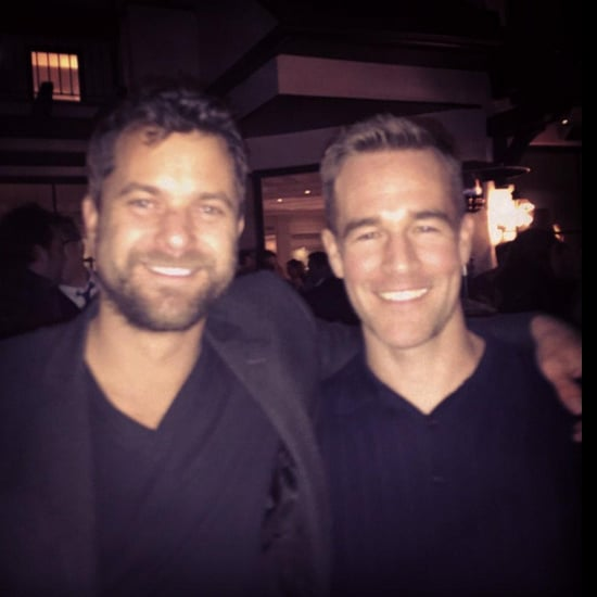 James Van Der Beek and Joshua Jackson Reunion