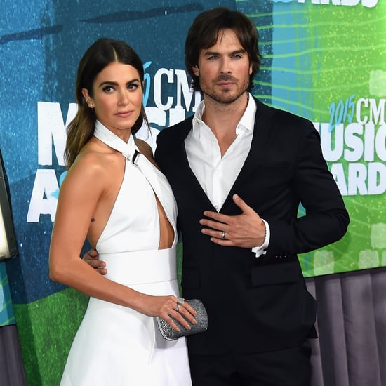 Ian Somerhalder and Nikki Reed 2015 CMT Awards Red Carpet