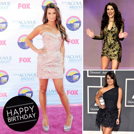 Lea Michele's Birthday — Her Sexiest Style Moments