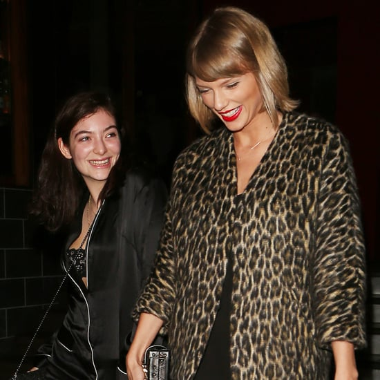 Lorde and Taylor Swift Leaving Dinner in LA March 2016