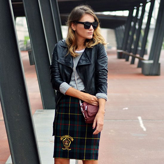 33 Street Style Snaps to Inspire Your New Season Wardrobe: Camouflage, Plaid, Burgundy and more!