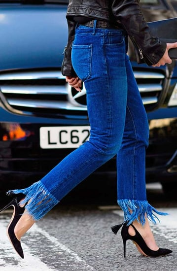 The DIY Way To Fringe Your Denim