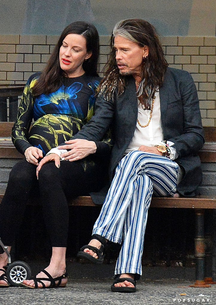 Steven Tyler and Liv Tyler Out in NYC June 2016 | POPSUGAR Celebrity