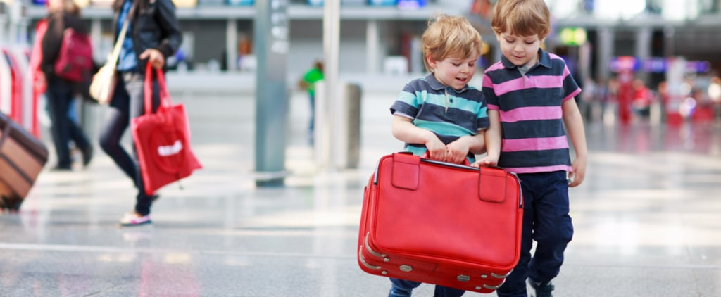 The 16 Exhausting Stages of Taking Kids Through Airport Security