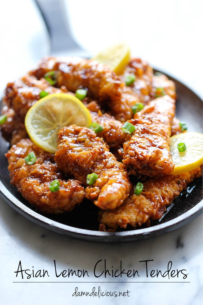 Asian Lemon Chicken Tenders | 15 Chicken Finger Recipes That Will Have ...