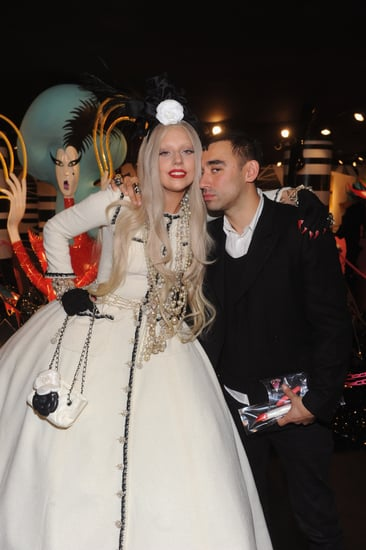 Lady Gaga's Holiday 2011 Workshop at Barneys [Pictures]