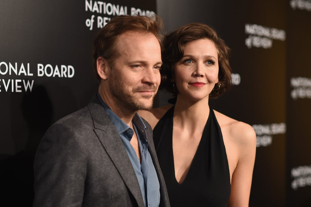 Pictured: Maggie Gyllenhaal and Peter Sarsgaard