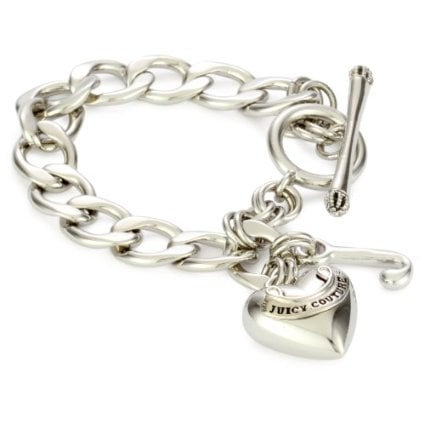 Juicy Couture Girls Chain Link Bracelet ($35)