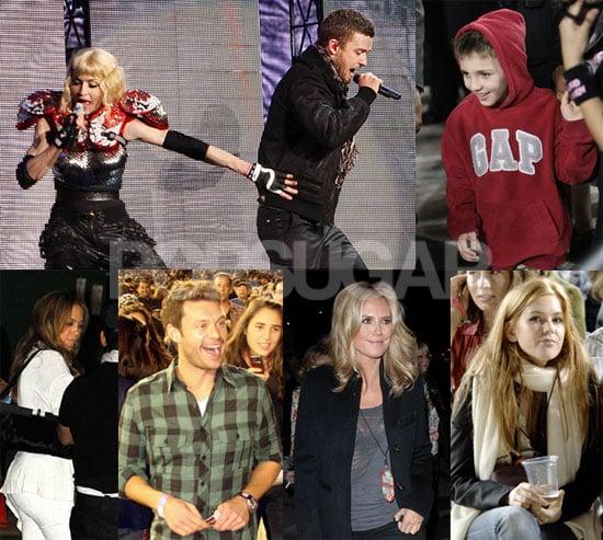 Madonna, Britney, and JT Entertain Stadium of Stars