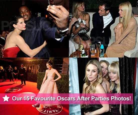 Our Favourite Photos From the 2011 Oscars After Parties!