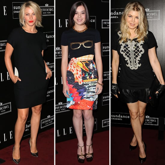 Julianne Hough, Fergie and Hailee Steinfeld Celebrate a Stylish Show