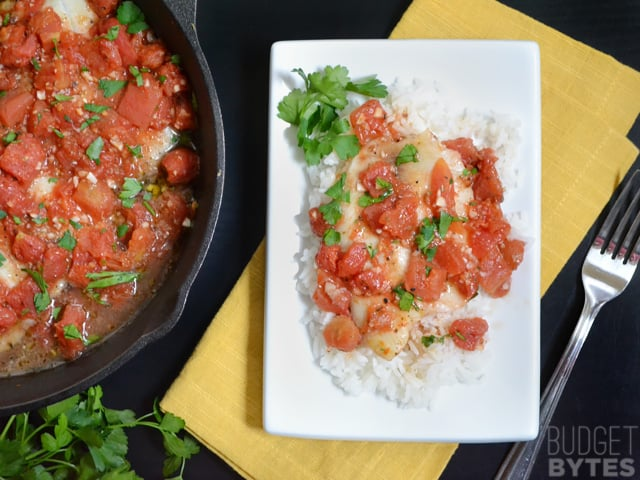 Baked Tilapia With Tomatoes