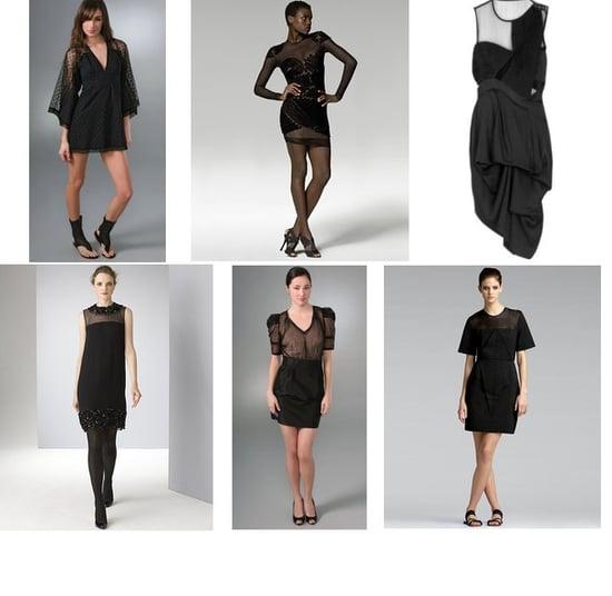 Shopping: This Season's Little Black Dress