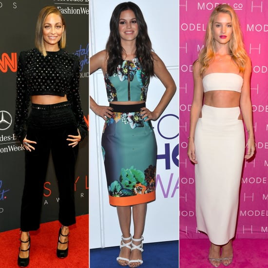 Diane Kruger and More Celebrities Wearing Crop Top Pictures