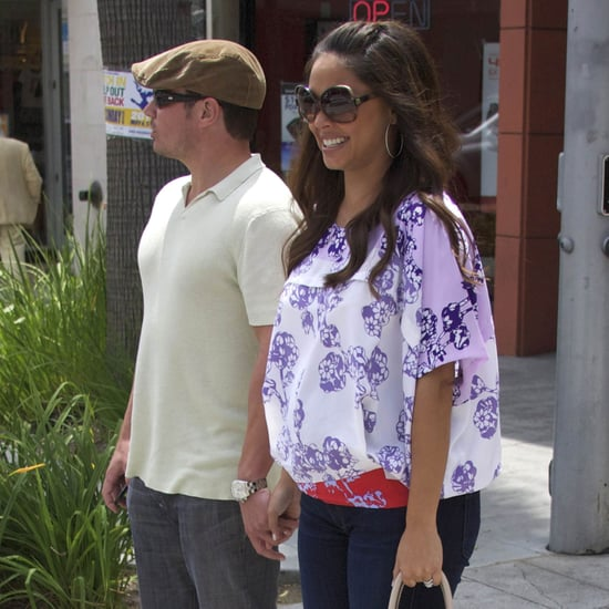 Pregnant Vanessa Minnillo Lachey With Nick Lachey Pictures