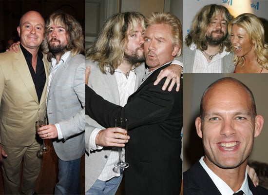 Photos Of Justin Lee Collins, Denise Van Outen, Noel Edmonds, Ross Kemp And Hunter At Sky One Autumn Launch Party