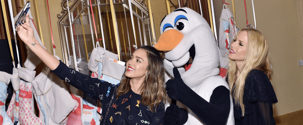 Jessica Alba and More Famous Moms Get a Head Start on the Holidays With Their Cute Kids