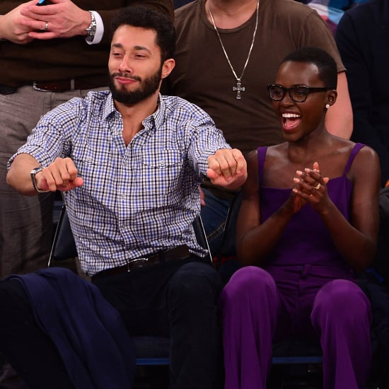 Lupita Nyong'o at a NY Knicks Game | Pictures
