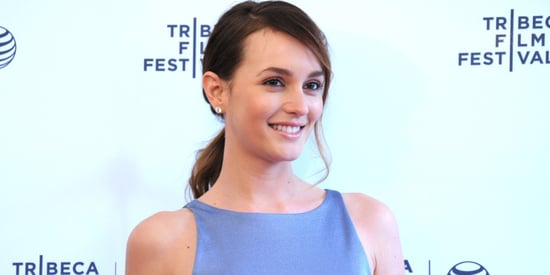 Finally, A Closer Look At Leighton Meester's Engagement Bling