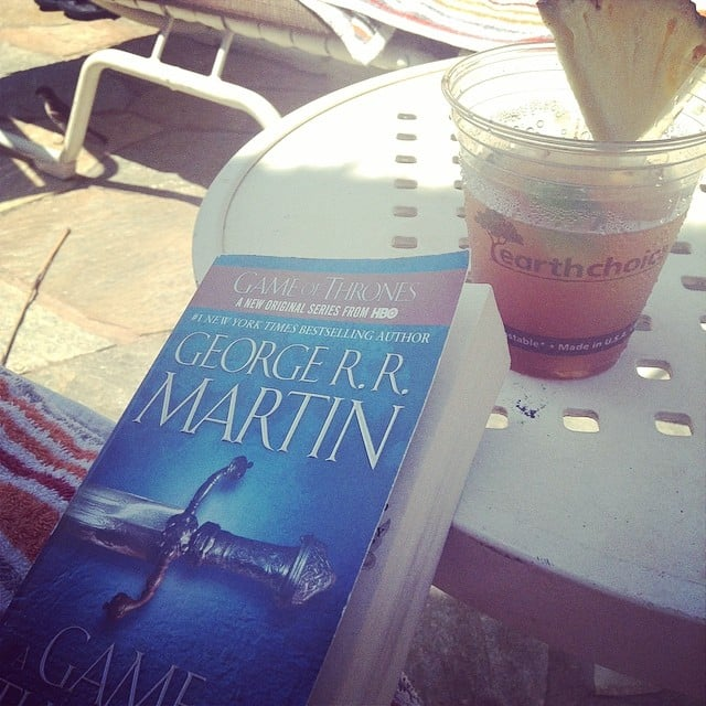 "Carpenterlizzy wrote: ""Mai tai time and book now that the work is done!"""