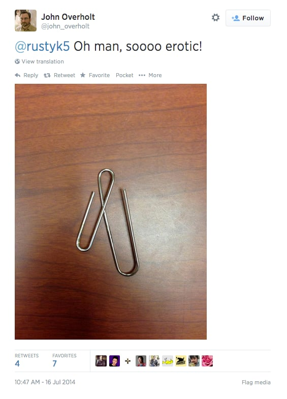 But Mostly, This Paperclip