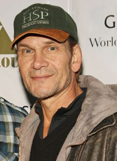 Patrick Swayze Remaining Positive But Realistic About Cancer