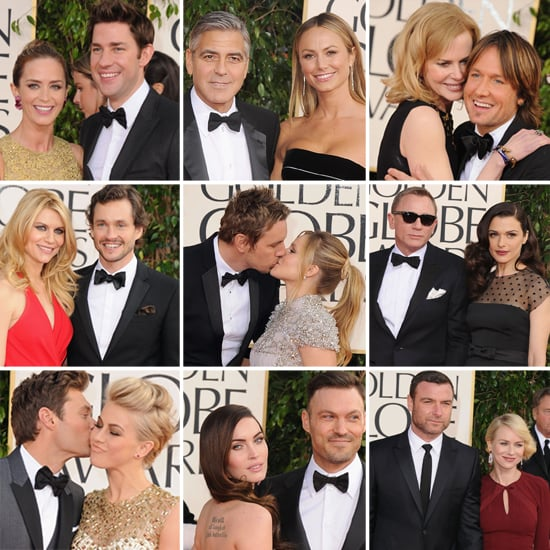 Star Couples Sparkle at the Golden Globes