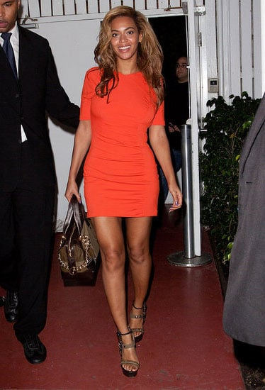 Celebrities Wearing Orange Including Diane Kruger, Gwyneth Paltrow and Beyonce