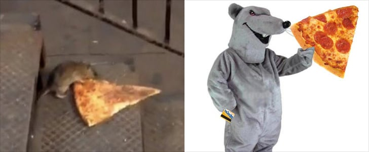 This Rat Carrying a Pizza Around NYC Is Taking Over the Internet