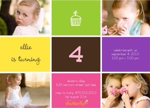 How Do You Spread the Word About Your Little One's B-Day Party? Tell Us to Win a Digital Camera!