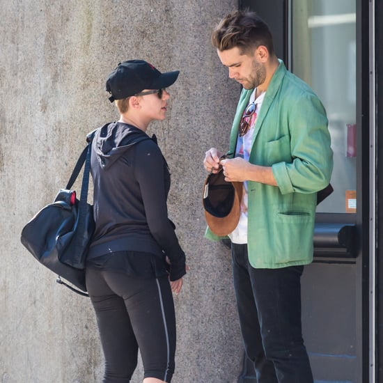 Scarlett Johansson in NYC After Having a Baby