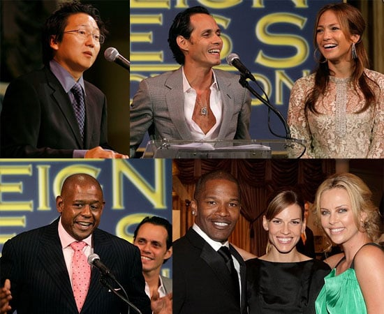 Stars Help The Hollywood Foreign Press Give Back