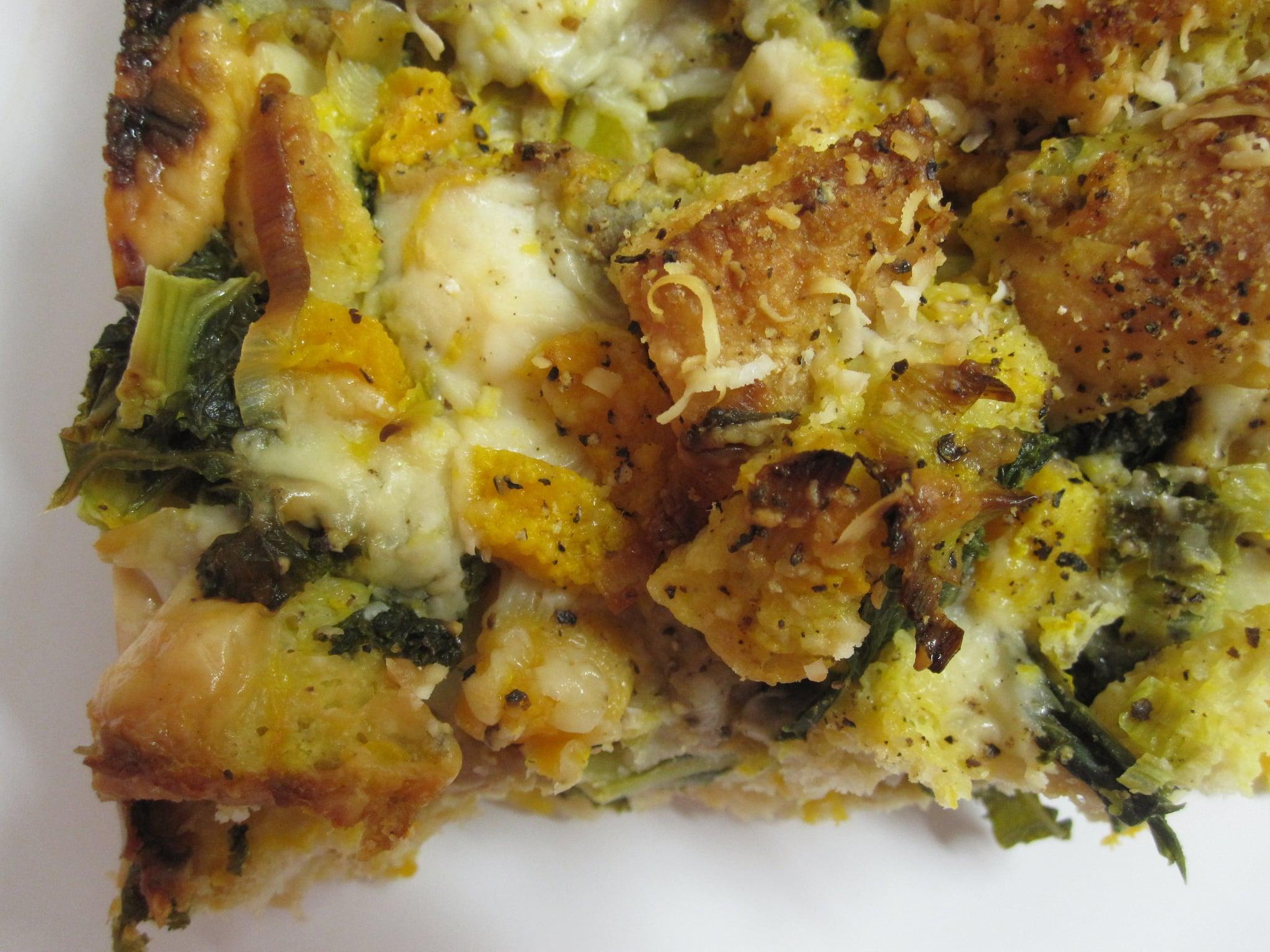 Sausage and Kale Thanksgiving Stuffing
