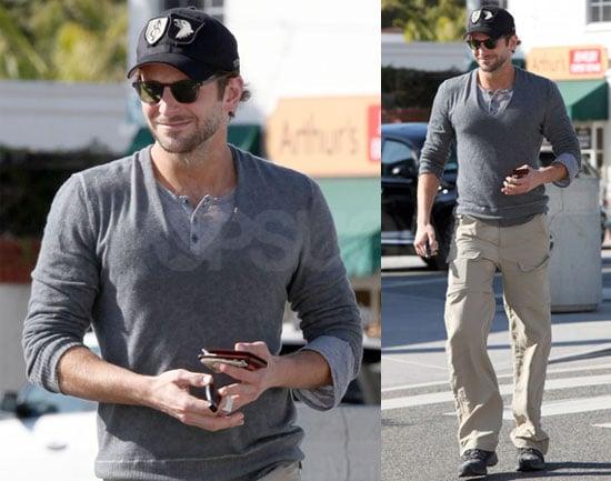Photos of Bradley Cooper in LA Without Renee Zellweger